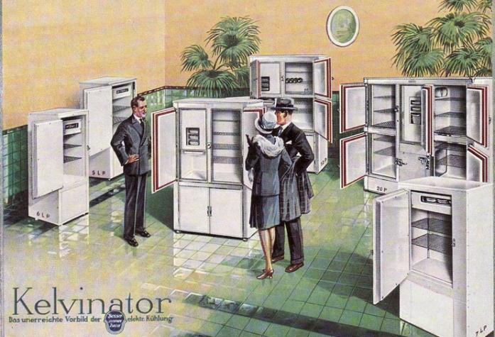 Kühlschrank etc.
